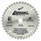"Milwaukee 48-40-4015 - 6-1/2"" 48 Carbide Teeth Circular Saw Blade"