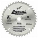 "Milwaukee 48-40-4005 - 6-1/2"" 60 Carbide Teeth Circular Saw Blade"