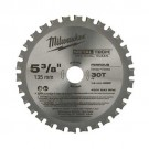 "Milwaukee 48-40-4075 - 5-3/8"" 50 Teeth Non-Ferrous Metal Circular Saw Blade"