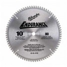 "Milwaukee 48-40-4162 - 10"" 40 Carbide Teeth Circular Saw Blade"