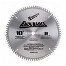 "Milwaukee 48-40-4166 - 10"" 80 Carbide Teeth Circular Saw Blade"