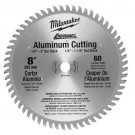 "Milwaukee_48-40-4540 - 8"" 60 Teeth Aluminum Circular Saw Blade"