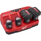 Milwaukee 48-59-1204 - M12 Four Bay Sequential Charger
