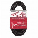 Milwaukee 48-76-4025 - 25' 3-Wire QUIK-LOK Cord
