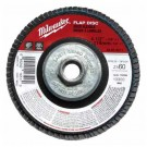 "Milwaukee 48-80-8041 - 7"" x 5/8""-11 Flap Disc 60 Grit - 5 Packs"