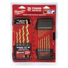 Milwaukee 48-89-1105 - Thunderbolt Titanium Drill Bit Set (20 PC)