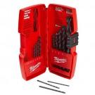Milwaukee 48-89-2800 - 14 Piece Thunderbolt Black Oxide Drill Bit Set