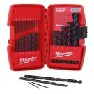Milwaukee 48-89-2801 - 21 Piece Thunderbolt Black Oxide Drill Bit Set