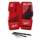 Milwaukee 48-89-2803 - 15-Piece Thunderbolt Black Oxide Drill Bit Set