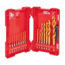 Milwaukee 48-89-4630 - SHOCKWAVE™ Titanium Drill Bit Set - 15PC