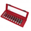 Milwaukee 49-22-8410 - Annular Cutter Set - 9PC