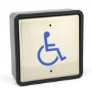 "Larco 4S3U0 - Push Plate Wall Switch - 4 1/2"" Square ""Handicap"" with Universal Box"
