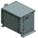 Electric Power 5KVA - General Purpose Isolation Type - 3 Phase - Primary 600V Delta - Secondary 380Y/220 - Copper