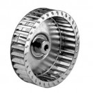 ALLTEMP 66-A8650 - Single Inlet Blower Wheels - 3 13/16'' Dia. - 1 1/4'' Width - CW Rot'n. - 1/4'' Bore - 7200 Max RPM