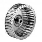ALLTEMP 66-A8660 - Single Inlet Blower Wheels - 4'' Dia. - 1'' Width - CW Rot'n. - 1/4'' Bore - 7200 Max RPM