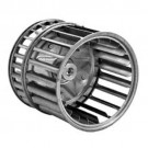 ALLTEMP 66-2-0749 - Double Inlet Blower Wheels - 6 1/4'' Dia. - 7 5/8'' Width - CCW Rot'n. - 1/2'' Bore - Galv. Made - 1800 Max RPM