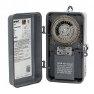 NSI Industries 8001U-N - Many Daily ON/OFF Operations Per Day Duty Cycle 24 Hour Time Switch - Noryl Indoor/Outdoor NEMA 3R