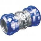 "Arlington 834RT - 1-1/2"" EMT Rain Tight Compression Couplings - Steel - 10 Packs"
