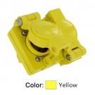 Leviton 85W47-D - 15 Amp - 125 Volt - NEMA L5-15R - 2P - 3W - Locking Duplex Outlet - Industrial Grade - Grounding - Wetguard - Yellow