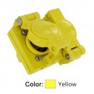 Leviton 85W49-D - 15 Amp - 250 Volt - NEMA L6-15R - 2P - 3W - Locking Duplex Outlet - Industrial Grade - Grounding - Wetguard - Yellow