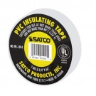 "Satco 90-1814 - PVC Electrical Tape - 60 Foot - 3/4"" Width - White Finish"