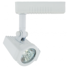 Liteline AA1010-WH - Alpha White Track Fixture - 12V Low Voltage - Uncovered MR16 Lamp 50W Max.