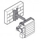 OUELLET AHX-MM2 - Wall mounting bracket - 15 to 20kW