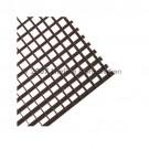 """Liteline AL50-22 BL - Aluminum Eggcrate Louver (Cell Size: 1/2"""" x 1/2"""" x 1/2"""") - 24"""" × 24"""" - Black"""