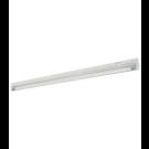 "T4 20W - 21"" Aluminum Fluorescent Bar - 2-Wire - 3200K Warm White - PC Lens - 6ft Power Cord with Polarized Plug - Liteline ALFT4-20-3200"