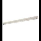 "T4 28W - 46-3/16"" Aluminum Fluorescent Bar - 2-Wire - 3200K Warm White - PC Lens - 6ft Power Cord with Polarized Plug - Liteline ALFT4-28-3200"