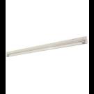 "T4 28W - 46-3/16"" Aluminum Fluorescent Bar - 2-Wire - 4100K Cool White - PC Lens - 6ft Power Cord with Polarized Plug - Liteline ALFT4-28-4100"