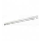 "T5 14W - 22.63"" Aluminum Fluorescent Bar with Built-in ON/OFF Switch - 3-Wire - 3200K Warm White - PC Lens - Liteline ALFT5-14-3200-3"