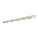 "T5 21W - 34.4"" Aluminum Fluorescent Bar with Built-in ON/OFF Switch - 3-Wire - 3200K Warm White - PC Lens - Liteline ALFT5-21-3200-3"