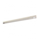 "T5 21W - 34.4"" Aluminum Fluorescent Bar with Built-in ON/OFF Switch - 3-Wire - 4100K Cool White - PC Lens - Liteline ALFT5-21-4100-3"