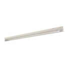 "T5 35W - 58"" Aluminum Fluorescent Bar with Built-in ON/OFF Switch - 3-Wire - 4100K Cool White - PC Lens - Liteline ALFT5-35-4100-3"