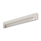"T5 6W - 9.33"" Aluminum Fluorescent Bar - 3-Wire - 4100K Cool White - PC Lens - Link Connector - Liteline ALFT5-6-4100-3"