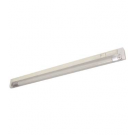"T5 8W - 12.36"" Aluminum Fluorescent Bar with Built-in ON/OFF Switch - 3-Wire - 3200K Warm White - PC Lens - Liteline ALFT5-8-3200-3"