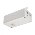 Fluorescent Bar and Xenon Bar Hardwire Box - with ON/OFF Switch - White - Liteline ALFT6300-WH