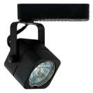 Liteline AO1012-BK - Apollo Black Track Fixture - 12V Low Voltage - Uncovered MR16 Lamp 50W Max.