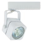 Liteline AO1012-WH - Apollo White Track Fixture - 12V Low Voltage - Uncovered MR16 Lamp 50W Max.