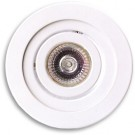 MR16 Recessed Emergency Romote - Tilting Mounting Assembly Type - 12V MR16 12W - White - Beghelli RMR TRR-WH 12V 12W