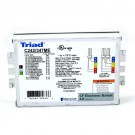 "Triad Ballast C242/347MES - For (1/2) x CFL 42 Watt - 4 Pin - 347V - Multi Exit with Studs (2"" on Center)"