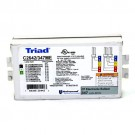 Universal Lighting - Triad Ballast C2642/347ME - (1/2) x CFL 26W to (1) x CFL 42W  - 4 Pin - 347V - Multi Exit (Side & Bottom Exit)