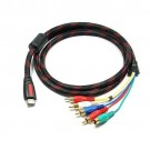 05Ft Speedex Hdmi to 5 Rca Cable