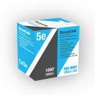 SecurLink CBL-CAT5-1000 B - CAT5e Cable - 24 AWG X 4 Pairs Solid Pure Copper - 1000'(305m) Length - Blue