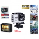 "New Sports CS3000H Action Camera 2.0""Screen 1080P Full HD Video, 30fps,170 degrees wide-angle lens_Silver color"