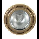 20W Xenon Puck Light - 12V - Gold - Liteline CL-1JC20X-GL
