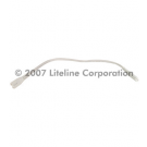 12-inch flexible wire connector used to join Xeno Bar Systems - Liteline - CLT6100-WH