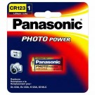 Panasonic CR123APA1B - 3 Volts - 123A Size - Photo & Electronic Lithium Battery - 4 Cards Packs