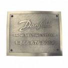 Danfoss 088L3405 - GX Snow Melting Nameplate (per NEC 426-13)